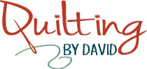 QUILTING BY DAVID Logo